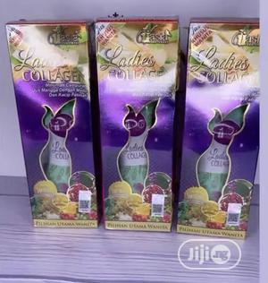 V'asia Ladies Collagen Drink 250ml | Skin Care for sale in Lagos State, Alimosho