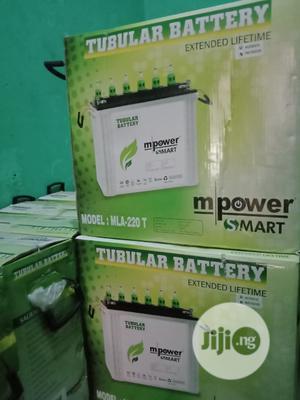 12v 220ahs Mpower Tubular Battery | Solar Energy for sale in Lagos State, Ojo