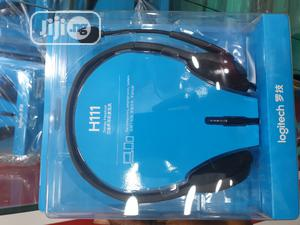 Logitech Headset H111 | Headphones for sale in Lagos State, Ikeja