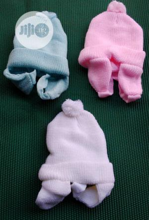 Baby Cap With Rope | Children's Clothing for sale in Lagos State, Ipaja