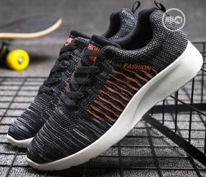 Men Sneakers Shoes - Gray | Shoes for sale in Lagos State, Ojodu