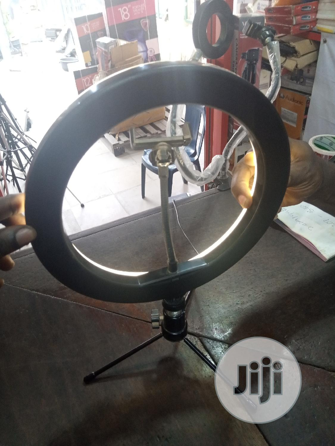 Archive: 10 Inches Ring Light Table Top