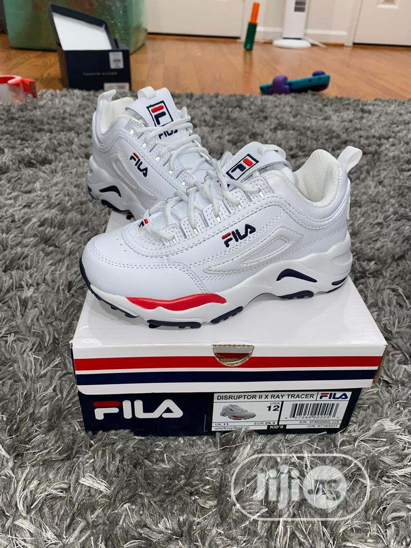 Archive: White Fila Distructor
