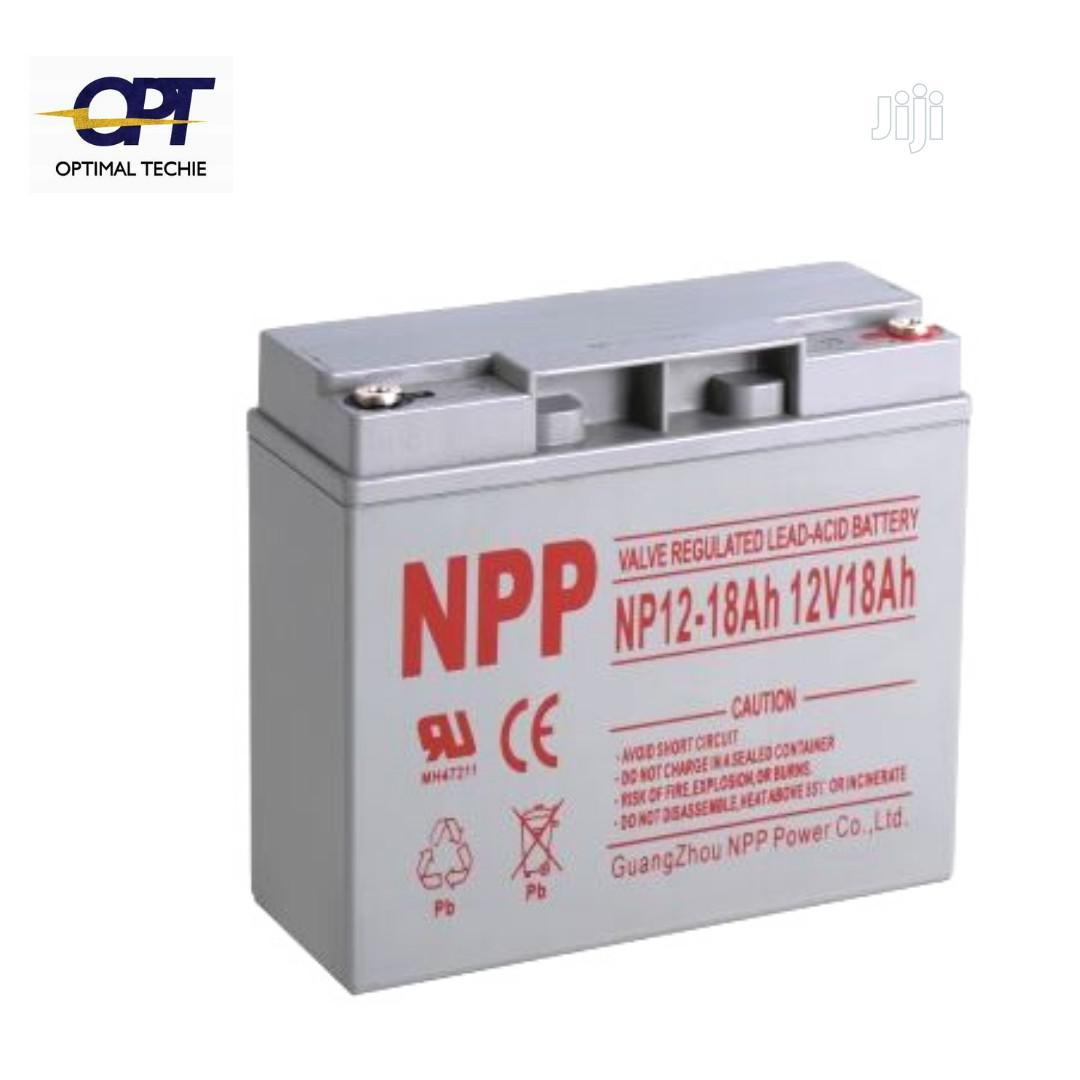 NPP 18ah 12V Lead Acid Battery