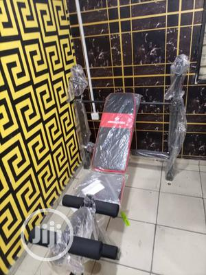 Standard American Fitness Workout Commercial Weight Bench | Sports Equipment for sale in Rivers State, Port-Harcourt