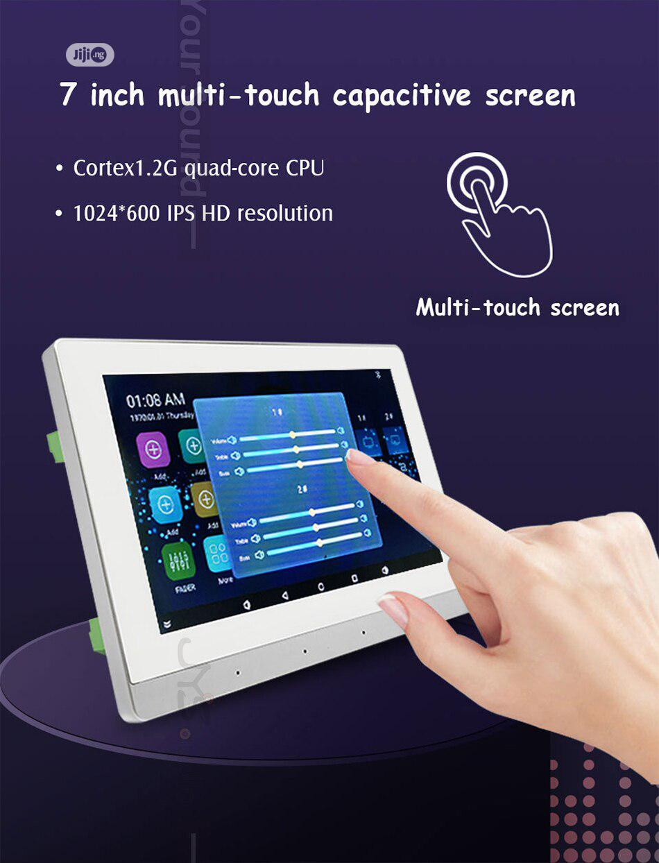 Android Bluetooth Wall Amp With 8 Ceiling Speakers | Audio & Music Equipment for sale in Ilupeju, Lagos State, Nigeria