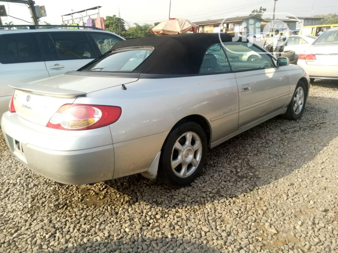 Toyota Solara 2002 Silver   Cars for sale in Alimosho, Lagos State, Nigeria