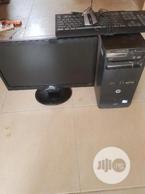 Desktop Computer HP 2GB Intel Core 2 Duo HDD 250GB   Laptops & Computers for sale in Lagos State, Ikeja