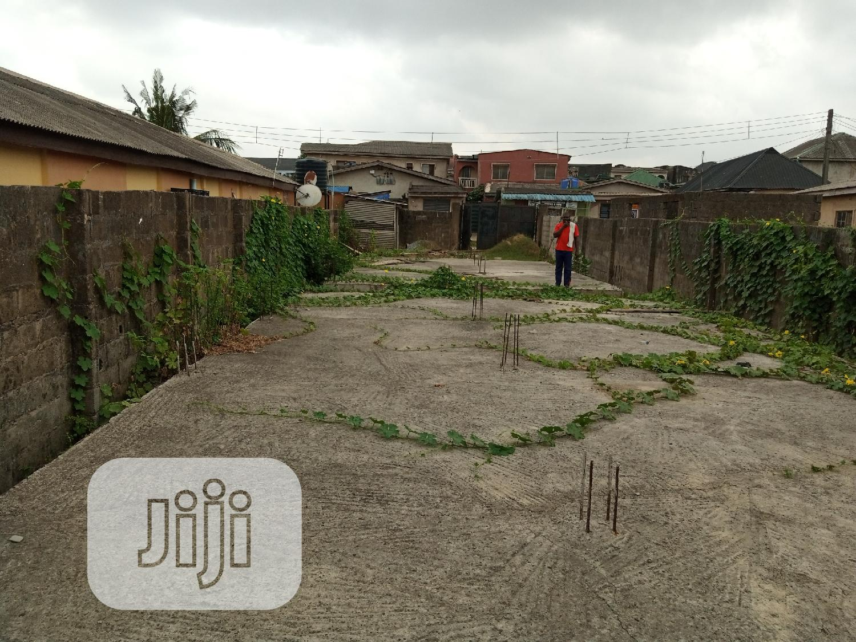 1⁄2plot With German Foundation M | Land & Plots For Sale for sale in Iyana Ipaja, Ipaja, Nigeria