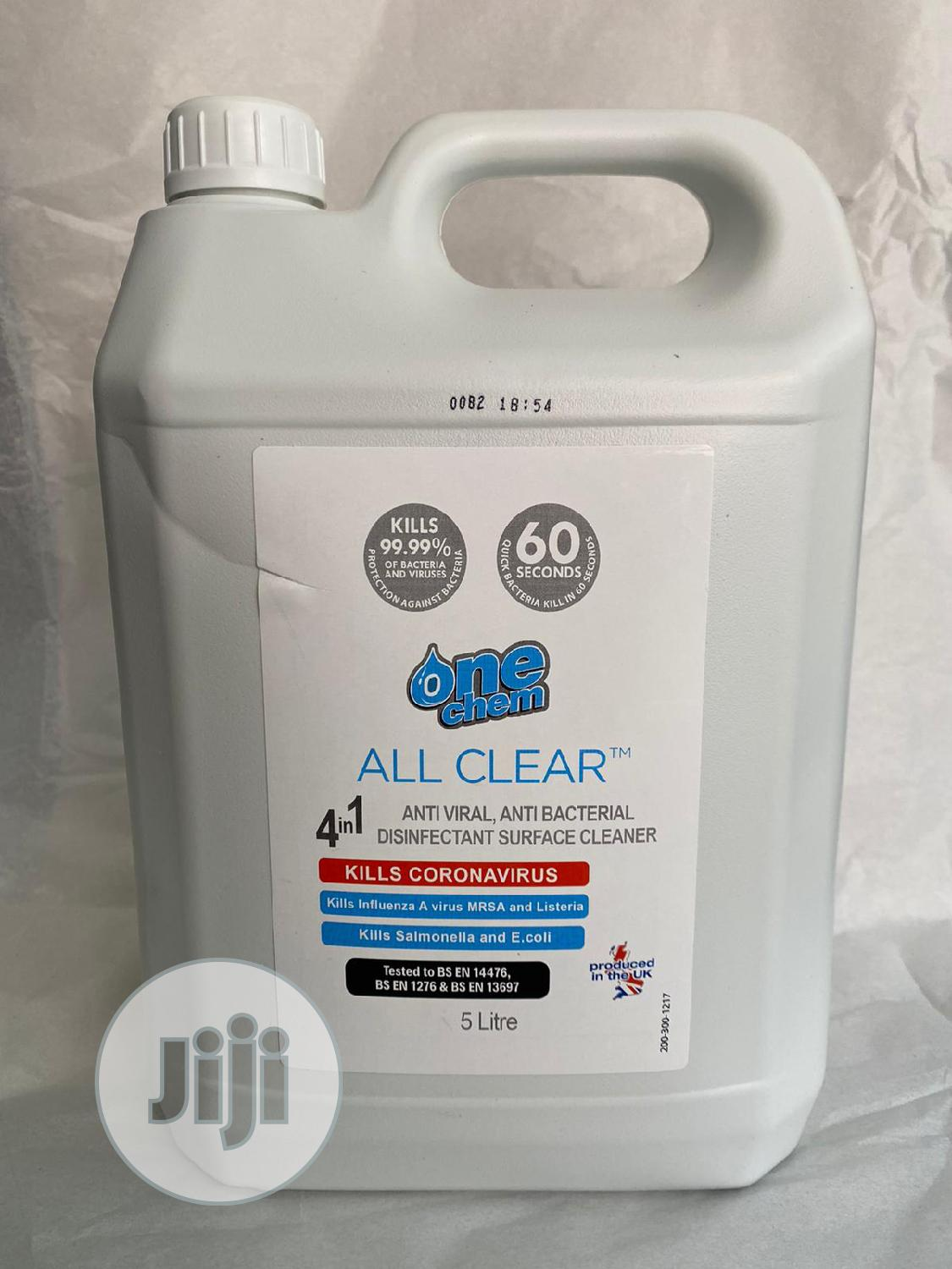All Clear Anti-Viral Disinfectant and Surface Sanitizer