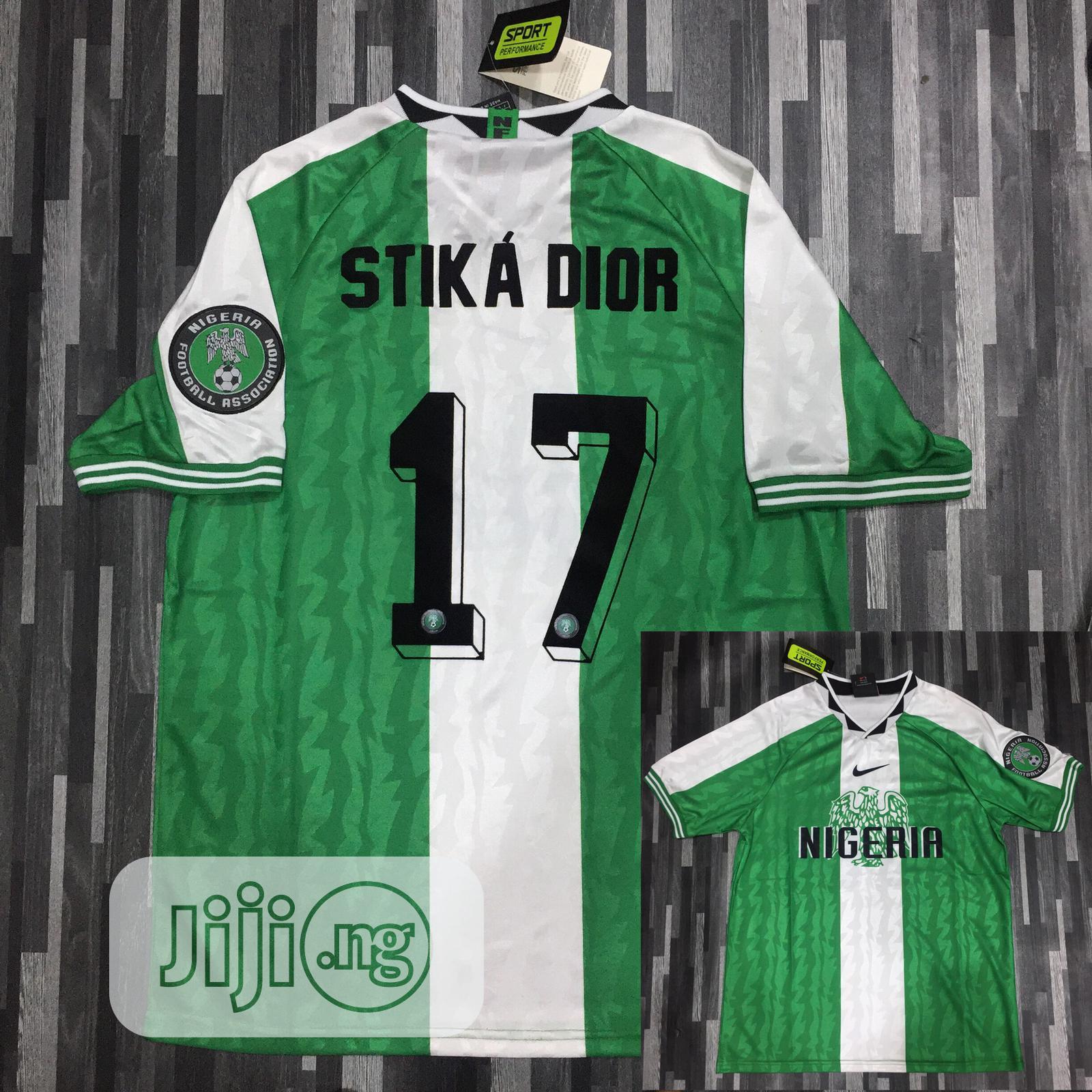 Archive: Nigeria  Retro Jersey