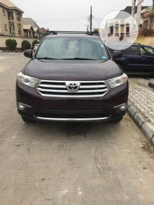 Toyota Highlander 2013 Limited 3.5l 4WD Brown | Cars for sale in Lagos State, Ifako-Ijaiye