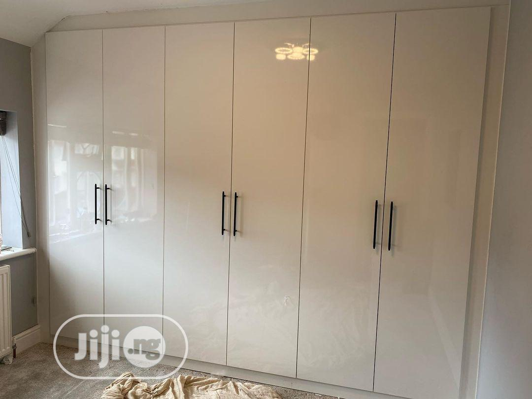 HDF Glossy Inbuilt Wallrobes   Furniture for sale in Maitama, Abuja (FCT) State, Nigeria