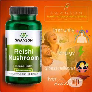 Swanson Reishi Mushroom for Immune Health 60capsules   Vitamins & Supplements for sale in Enugu State, Enugu