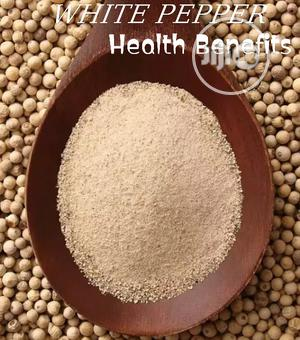 White Pepper Seed and Powder | Vitamins & Supplements for sale in Lagos State, Lagos Island (Eko)