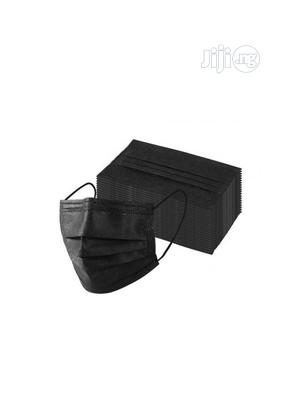 3ply Surgical Mask Black | Medical Supplies & Equipment for sale in Lagos State, Orile