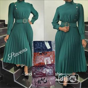 Trendy Female Quality Pleated Gown | Clothing for sale in Lagos State, Ikeja