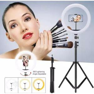 Selfie Ring Light With Tripod Stand For Video Live Streaming | Accessories for Mobile Phones & Tablets for sale in Lagos State, Lagos Island (Eko)