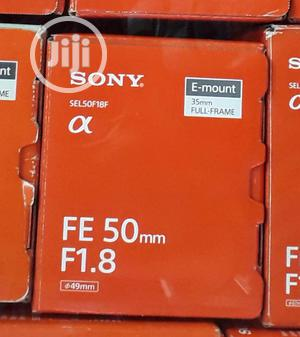 Sony 50mm 1.8f Prime Lens   Accessories & Supplies for Electronics for sale in Lagos State, Ikeja
