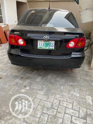Toyota Corolla 2003 Black   Cars for sale in Lagos State, Lekki