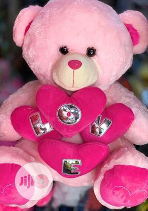 Love Pink Teddy Bear | Toys for sale in Lagos State, Amuwo-Odofin