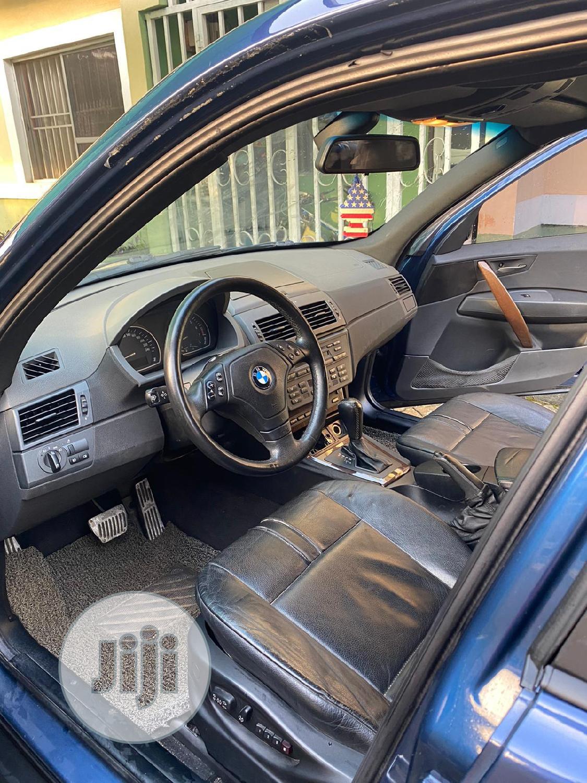 Archive: BMW X3 2006 2.5i Blue
