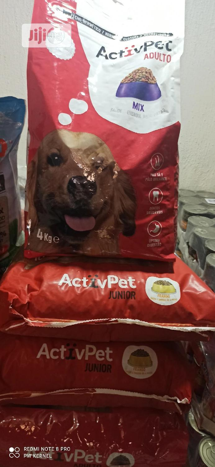 Activpet Dog Food Available