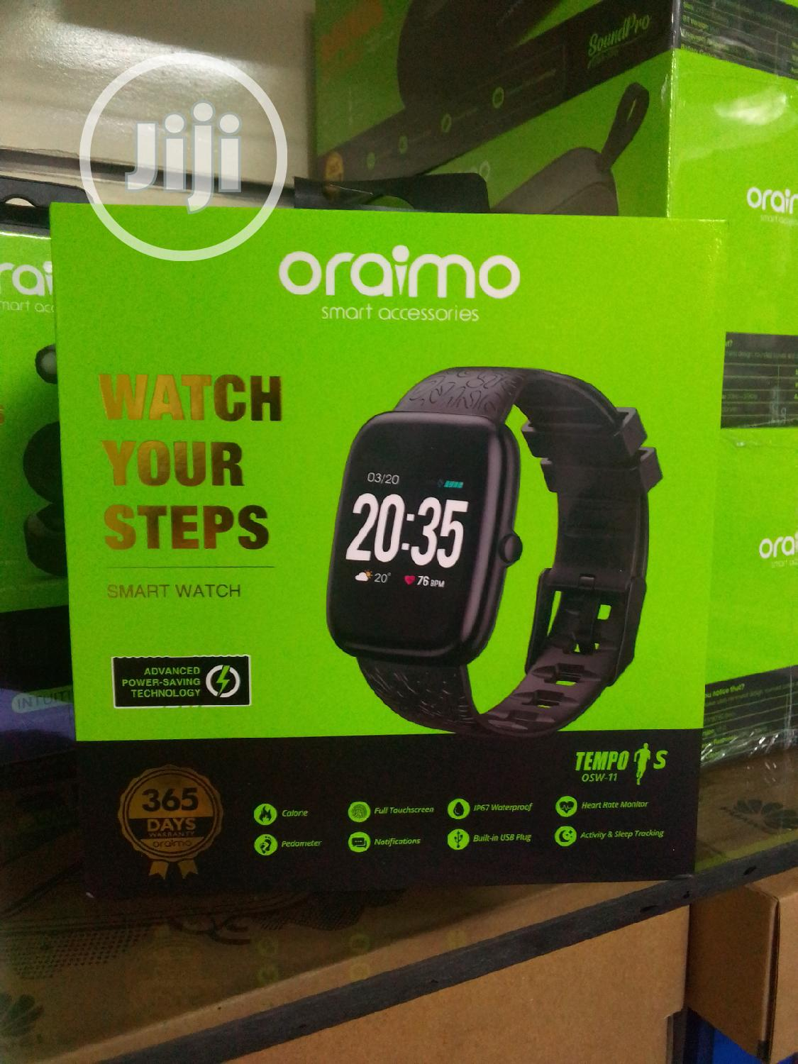 Oraimo Osw-11 Smart Watch | Smart Watches & Trackers for sale in Port-Harcourt, Rivers State, Nigeria