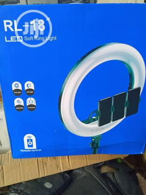 RL-18inchs LED Soft Ring Light   Accessories for Mobile Phones & Tablets for sale in Lagos State, Ikeja