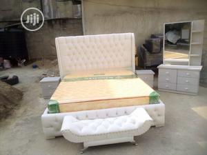 6by6 Upholstery Bed Complete Set | Furniture for sale in Lagos State, Ojo