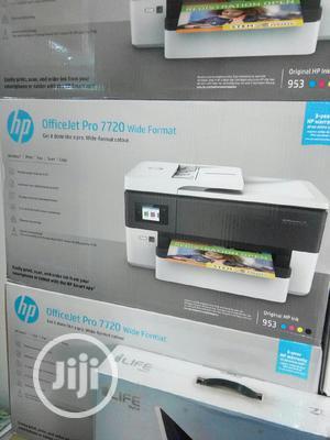 Hp Printer Officejet 7720 Wide Format   Printers & Scanners for sale in Lagos State, Ikeja