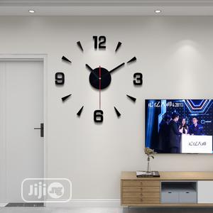 3D Wall Clock | Home Accessories for sale in Lagos State, Ikeja