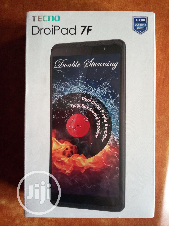 New Tecno DroiPad 7F 16 GB Black