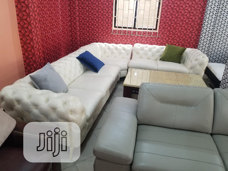 Italian L Sharp Sofa