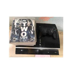 Hacked Ps3 With Accesssories   Video Game Consoles for sale in Akwa Ibom State, Ikot Ekpene
