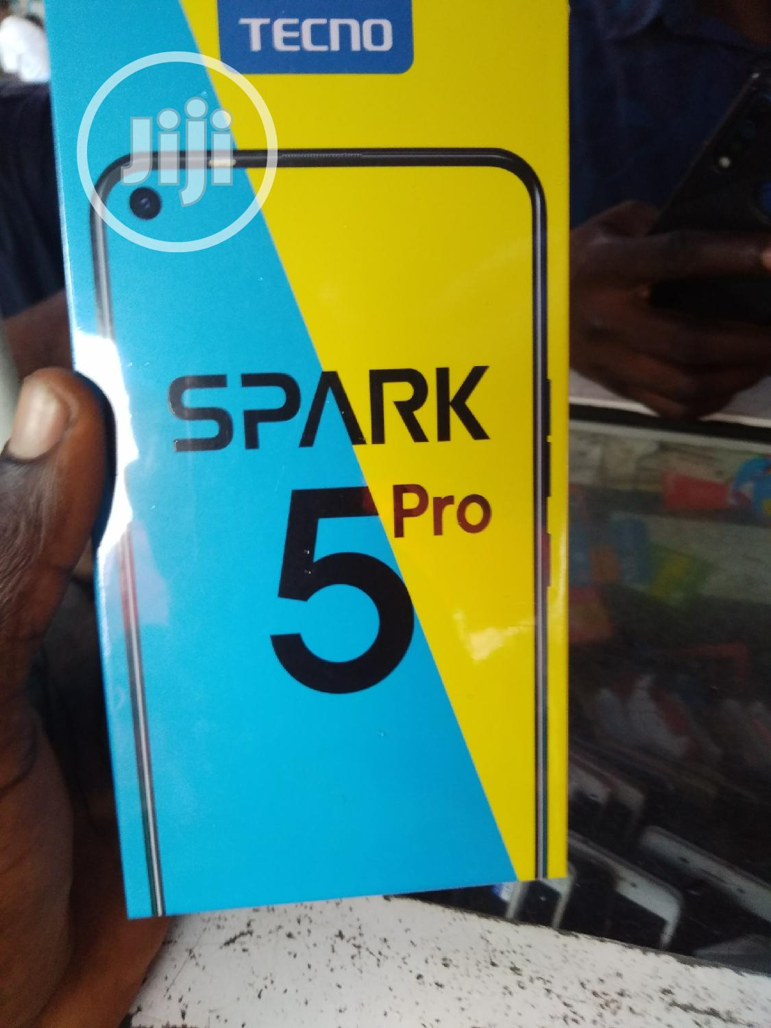 New Tecno Spark 5 Pro 64 GB Gray | Mobile Phones for sale in Ajah, Lagos State, Nigeria