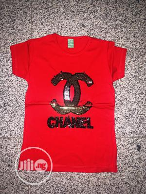 Red Chanel Top for Babygirl, Yellow Top for Baby Boy. | Children's Clothing for sale in Abuja (FCT) State, Gwarinpa