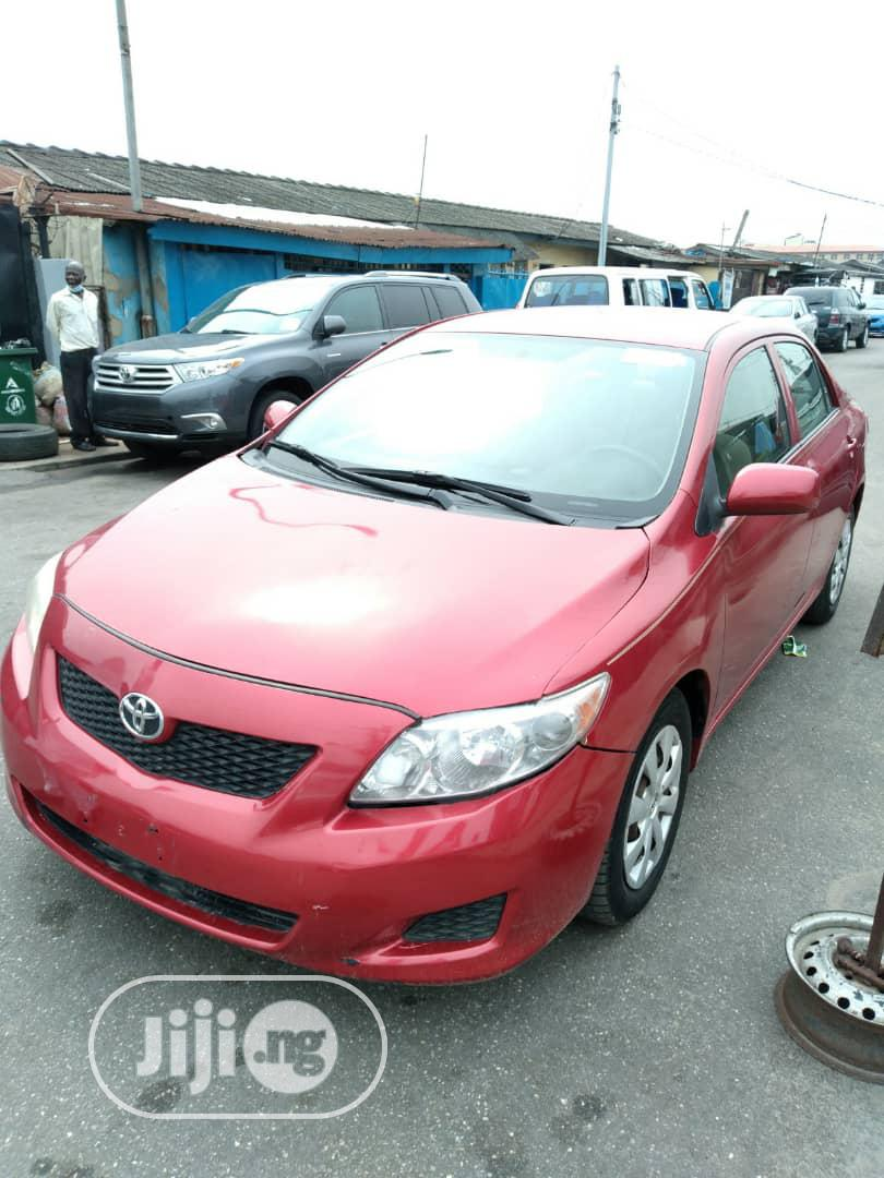 Archive: Toyota Corolla 2009 1.4 Advanced Red