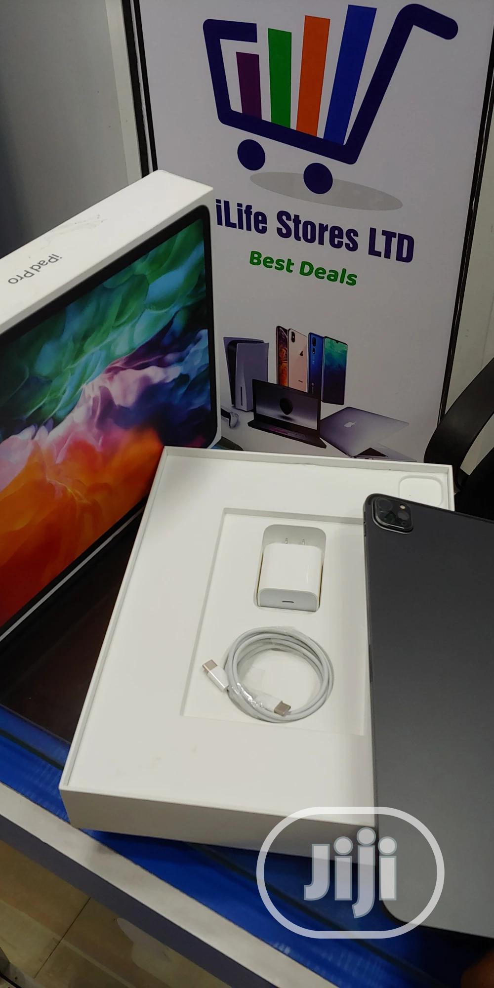 Apple iPad Pro 12.9 (2020) 128 GB Gray   Tablets for sale in Ikeja, Lagos State, Nigeria