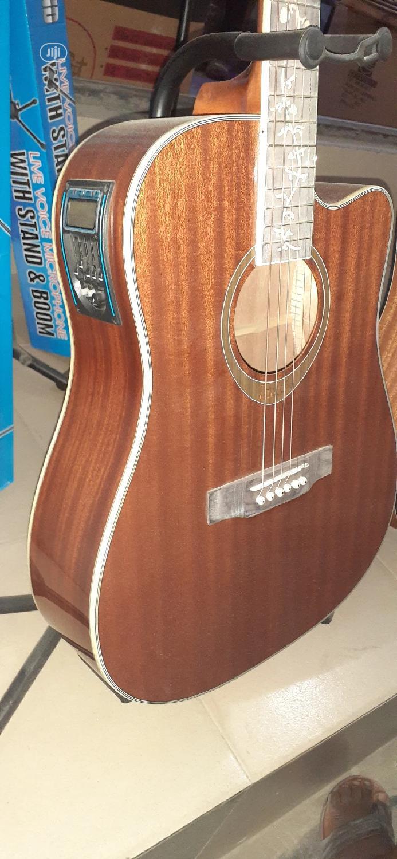 (Original Wood) Semi Acoustic Guitar.