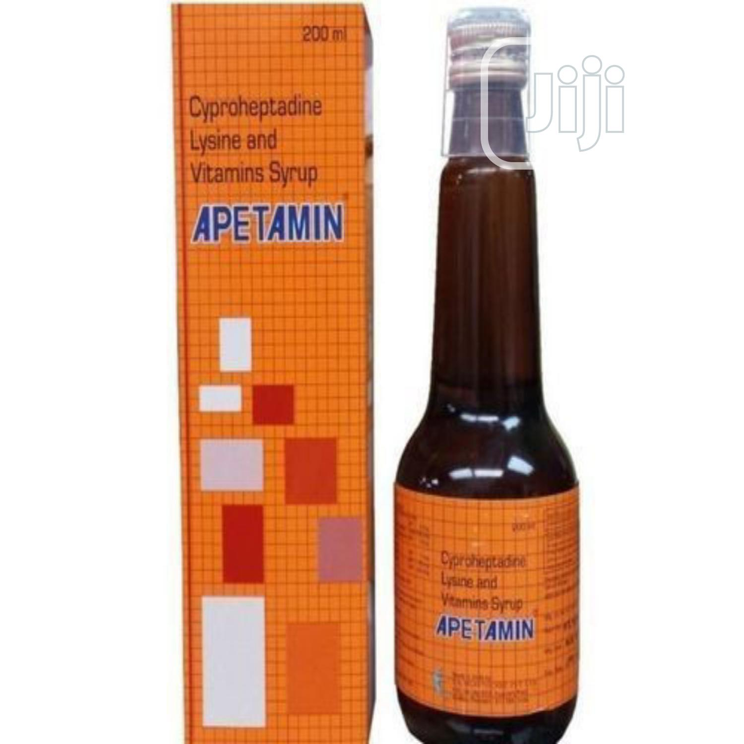 Apetamin Syrup for Weight Gain Hips, Breast Cuves, Butts