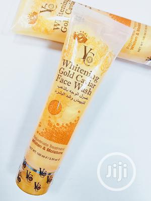 YC Whitening Gold Caviar Face Wash 100ml | Skin Care for sale in Lagos State, Amuwo-Odofin