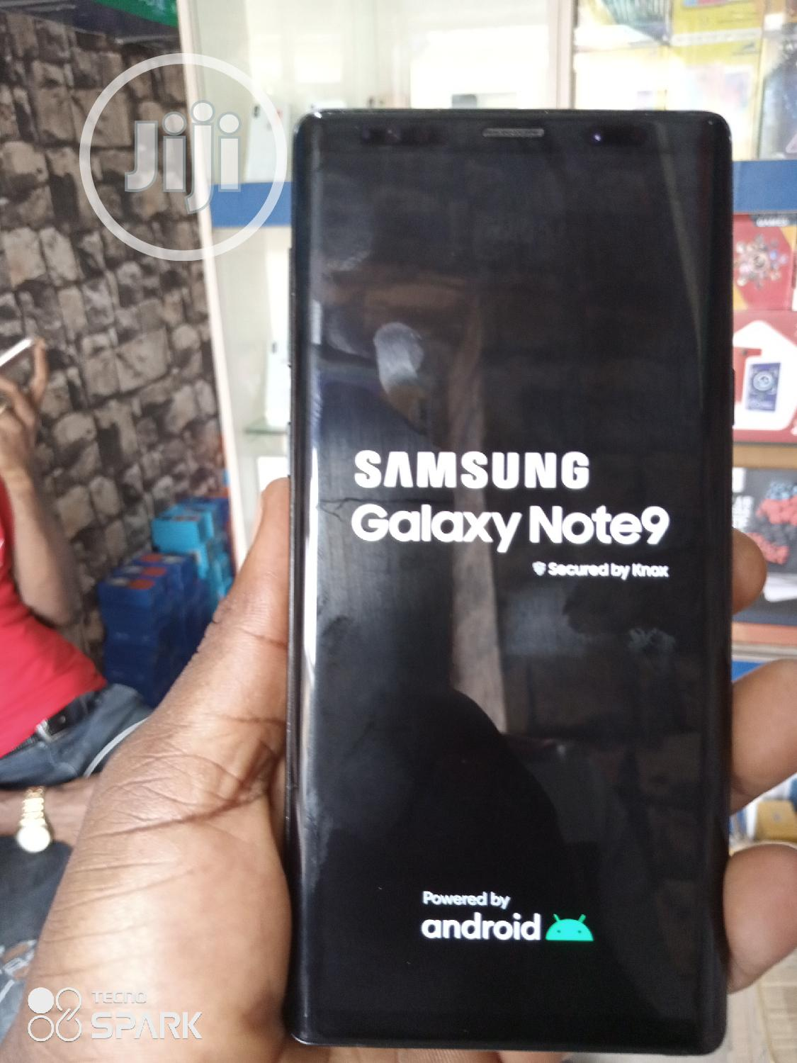 Samsung Galaxy Note 9 128 GB Black   Mobile Phones for sale in Ikeja, Lagos State, Nigeria