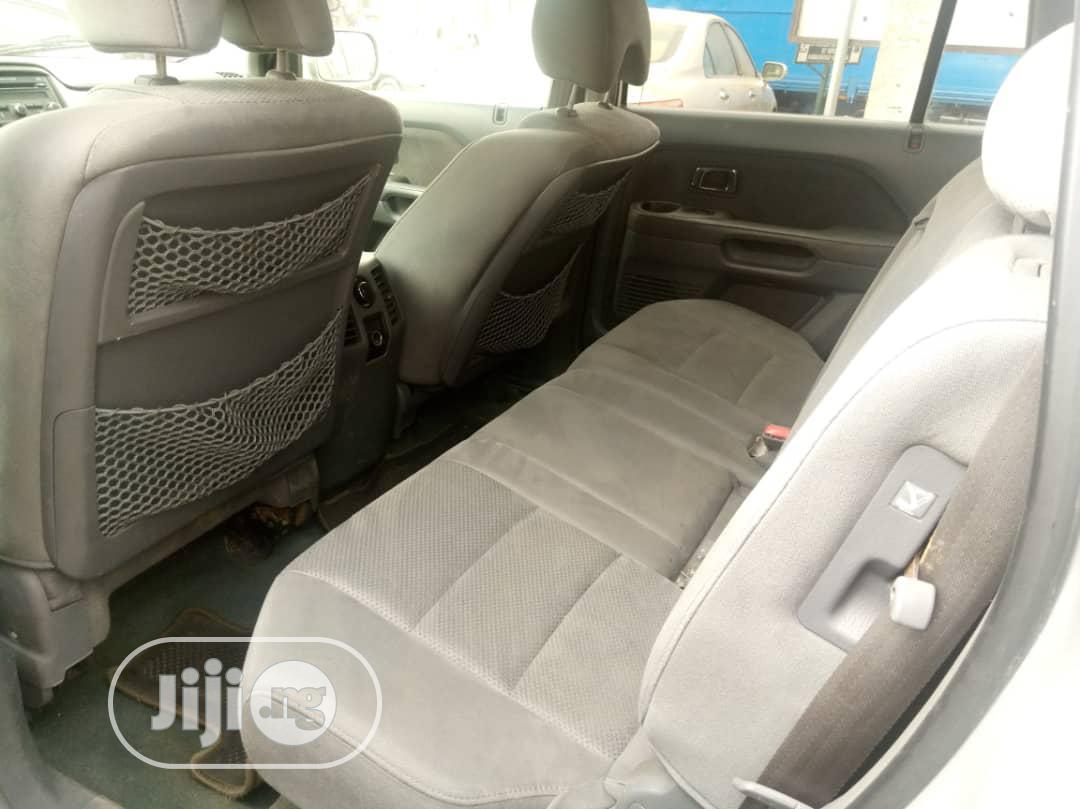 Honda Pilot 2007 EX-L 4x4 (3.5L 6cyl 5A) Gold | Cars for sale in Abule Egba, Lagos State, Nigeria