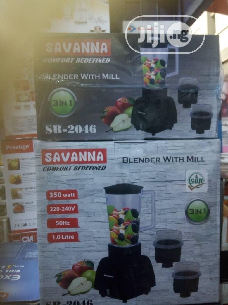 Savannah 3 in 1 Blender With Mill