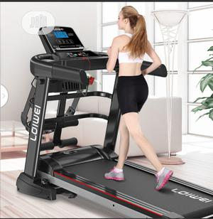 Brand New 2.5hp Treadmill With Mp3,Massager,Dumbbell,Situp   Sports Equipment for sale in Delta State, Warri