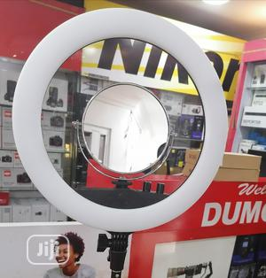 Ring Light 14 Inch + Mirror +Clip | Accessories & Supplies for Electronics for sale in Lagos State, Ikeja