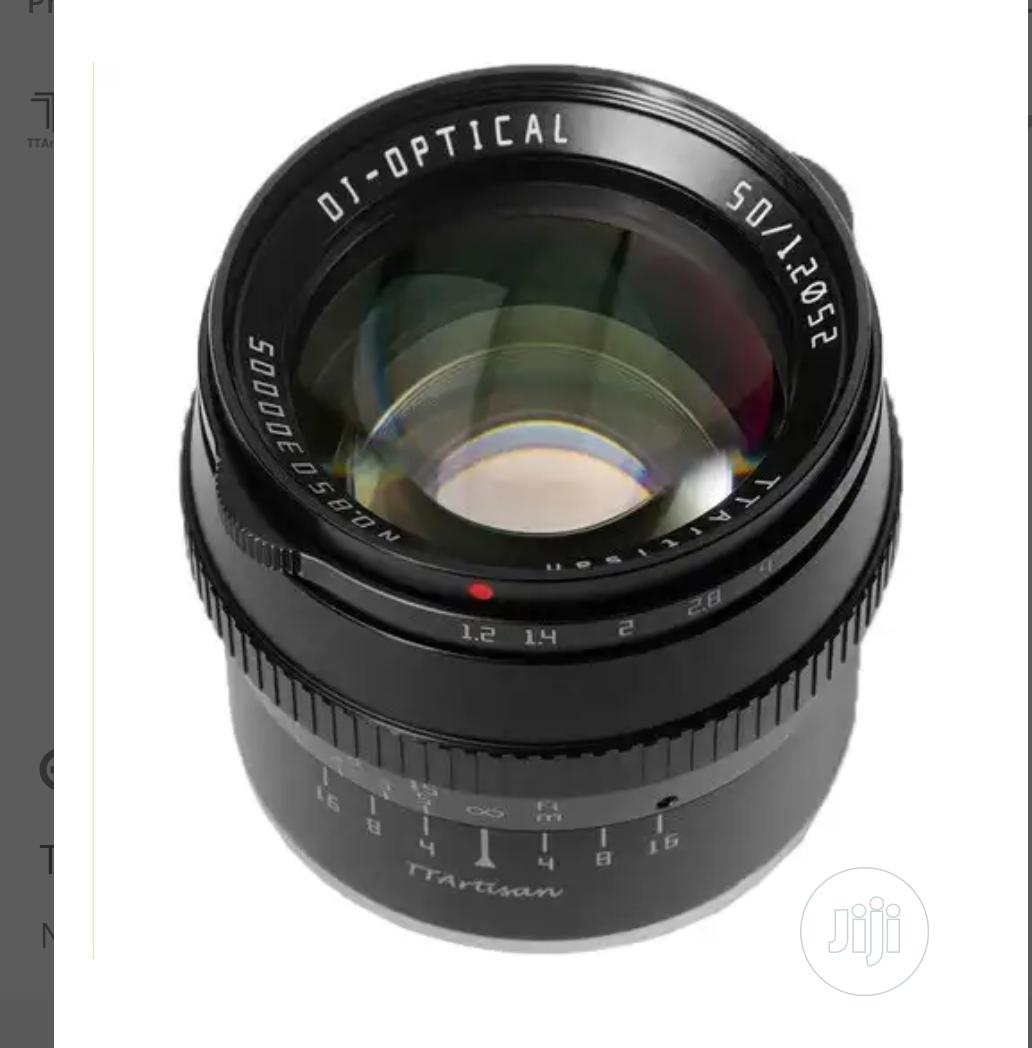 TT Artisan 50mm F1.2 for Sony E Mount   Accessories & Supplies for Electronics for sale in Ikeja, Lagos State, Nigeria