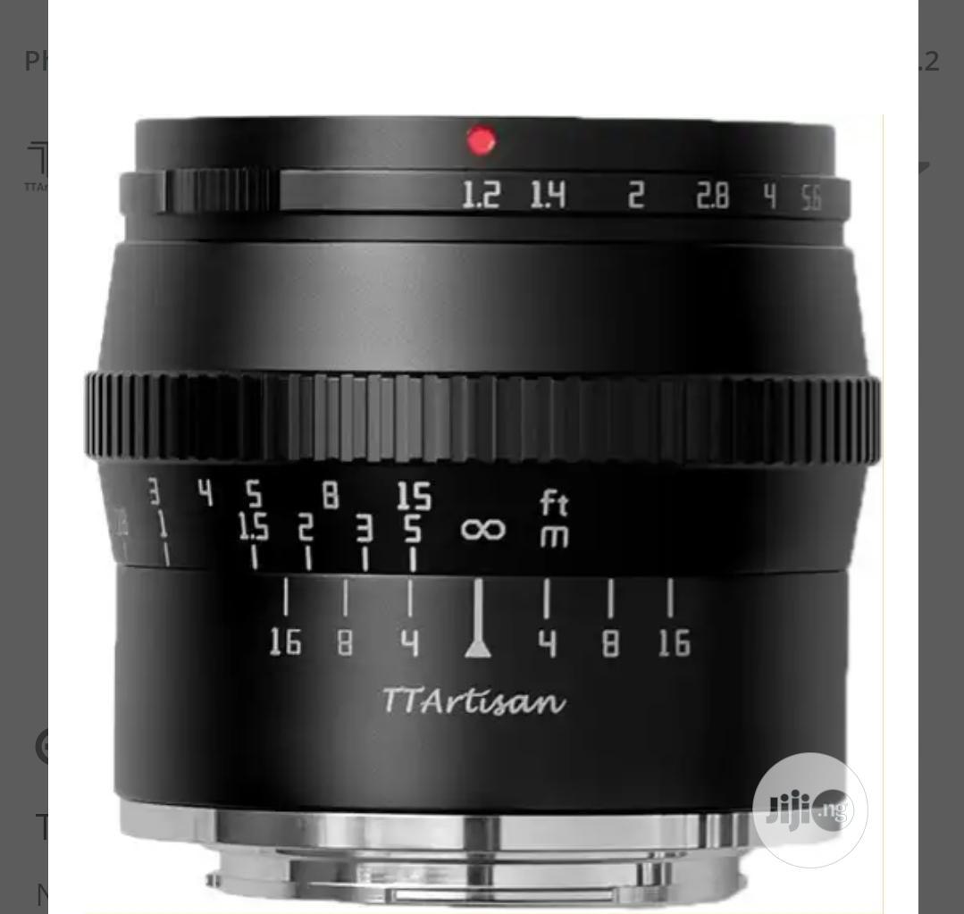 TT Artisan 50mm F1.2 for Sony E Mount