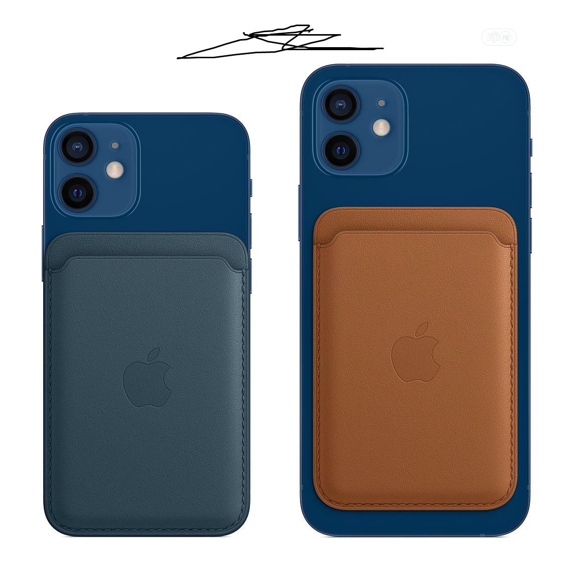 Leather Wallet With Magsafe for iPhone 12 Series   Accessories for Mobile Phones & Tablets for sale in Ikeja, Lagos State, Nigeria